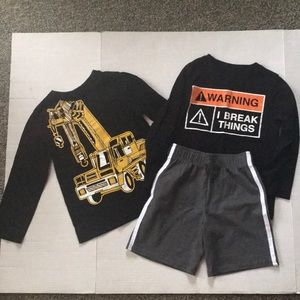 Boys clothing lot size 4 toddler 5 pieces